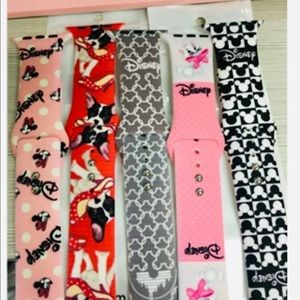 38/40mm Disney Apple Watch Bands 5 Pcs Bundle (S/M